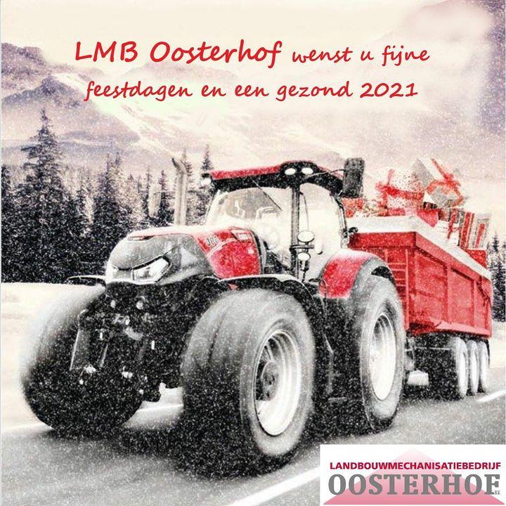 LMB Oosterhof wenst al hun klanten,