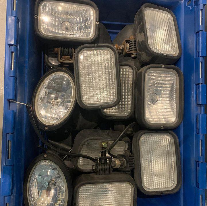 Originele halogeen werklampen van